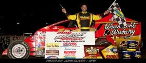 Strunk Takes First-Ever Short Track Super Series Victory Sunday On Bridgeport 3/8-Mile