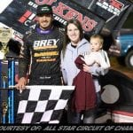 Reutzel Claims Inaugural Buckeye Cup At Sharon Speedway For First Career All Star Sprint Win