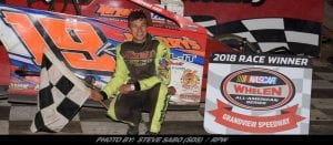 Brett Kressley Takes Checkers Saturday Night At Grandview