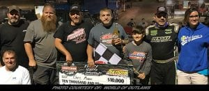 Chris Madden Scores Second WoO LM Win Of Season at Senoia Raceway