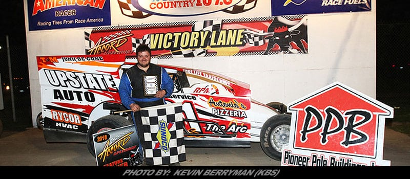 Jimmy Wells Collects Accord Sdway Modified Gold Friday Night
