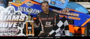 Dewease Rockets To 89th Career 410 Win At Williams Grove; Rain Halts 358-Sprints