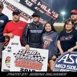 Hafertepe Holds Off Swindell For ASCS Sprint Victory At I-30 Speedway