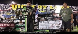 Jimmy Owens Lands First in Flight 100 World Of Outlaws LM Victory