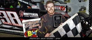 Luke Whitteker Completes Comeback Story With Opening Day Win At Brockville