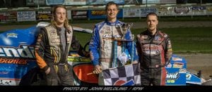 Matt Sheppard Outraces Jeremy Wilder To Take New Yorker 100 At Utica-Rome