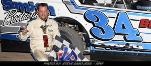 Brett Tonkin's Misfortune Gives Afton Modified Win To Rusty Smith