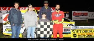 Jordan McCreadie Gets First Of 2018 At Can-Am Speedway