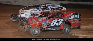Brian Swartzlander Tops The Modified Field At Lernerville