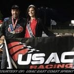 Ryan Godown Rockets His Way To First Ever USAC Wingless Sprint Victory At Big Diamond