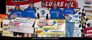 Davenport Shines In North Star Nationals For Lucas Oil LM Dirt Series Win