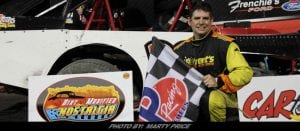 Cory Winters & Tim Hegarty Claim Dirt Modified Nostalgia Tour Checkers At Mohawk