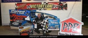 Jerry Higbie Makes Statement In Modified Triumph At Accord Speedway