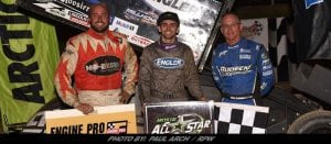Cale Thomas Passes Joey Saldana Late To Earn First Career All Star Sprints Victory