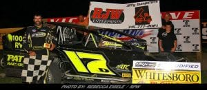 Danny O'Brien Pockets Friday Victory At Can-Am Speedway