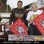 Steve Buckwalter Claims Walt Dyer Tribute At Williams Grove Speedway Friday