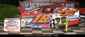 Brett Kressley Takes Modified Glory Saturday At Grandview Speedway