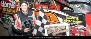 A Long Time Coming: Jeremy LaSalle Notches First 358 Modified Victory At Brockville