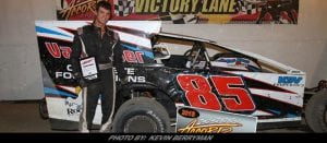 Kyle VanDuser Cements Field For First Career Modified Win At Accord