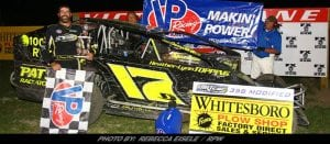 O'Brien Goes Back-To-Back In 358-Modified Action At Can-Am