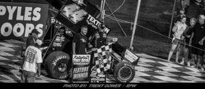 Trey Starks Strikes For First Career Port Royal Sprint Car Win