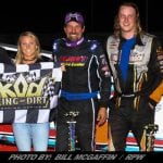 Bobby Varin Makes It 3-In-A-Row On King Of Dirt Tour; Takes 358 Series Opener At Devil's Bowl