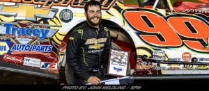 Larry Wight Takes Modified Main Event Win Friday At Brewerton Speedway