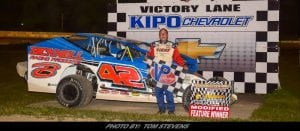 """""""Mr. Small Block"""" Wins Second Modified Main At Ransomville In 2018"""