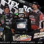Donny Schatz Pockets $40,000 With WoO Sprint Car Jackson Nationals Win