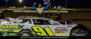 Chad Homan Scores Second Late Model Win at New Humberstone