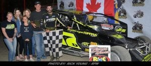 Danny O'Brien Scores First Brockville Win Of 2018, Top-Five At Can-Am