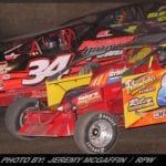 A Double Dose Of Modifieds For Race Fans In The Mohawk Valley Last Weekend