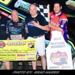 Swindell Triumphs With ASCS In First Creek County Speedway Visit
