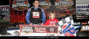 Drake Wins Summer Nationals Opener at Peoria Speedway