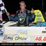 Brady Bacon Goes Back-To-Back In USAC Eastern Storm At Grandview
