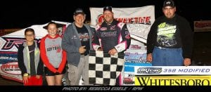 Billy Dunn Repeats In Modified Action At Can-Am Friday Night
