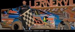 Rex King Jr. Tops Modifieds At Lernerville Speedway