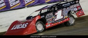 Pearson Powers To Lucas Oil Late Model Dirt Series Pole At Magnolia