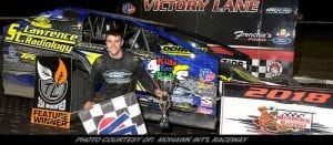 Chris Raabe Returns To Mohawk International Raceway Victory Lane Friday
