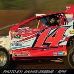 AJ Slideways Gets To Victory Lane Friday At Outlaw Speedway