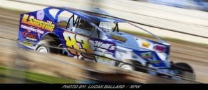 15th Doesn't Show How Good Of A Car Chad Pierce Had Saturday At Lebanon Valley