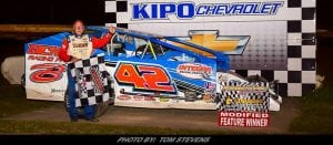 Pete Bicknell Wins For Third Time In 2018 At Ransomville Speedway