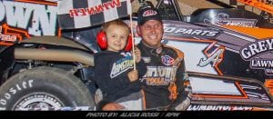 Kyle Armstrong Gets Career Win #2 Saturday At Lebanon Valley