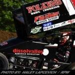 Reutzel Drives By Larson To Claim Round Three Of Ohio Speedweek At Waynesfield