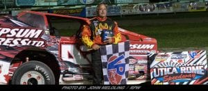Pat Ward Holds Off Billy Dunn To Take 358-Modified Win At Utica-Rome