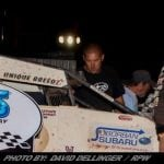 Robert Ballou Taps BAPS Motor Speedway For First USAC Victory Of 2018