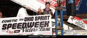 Kyle Larson Becomes First Repeat Winner During 2018 Ohio Speedweek; Wins At Wayne County