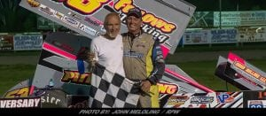 Shawn Donath Back In Victory Lane With Empire Super Sprint Win At Utica-Rome