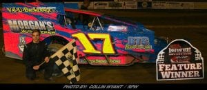 Dayton Brewer Bags First Career Woodhull Modified Win