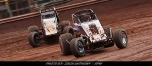 Kent & Ruth Jr Lead RUSH Sprints Into Wednesday Night Mayhem Series At Lernerville